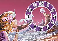 """Схема для вышивки бисером """"Часы"""", А3"""