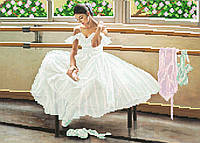 """Схема для вышивки бисером """"Балерина"""", А3"""