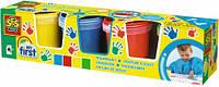 Пальчиковые краски серии My first (4 цвета в баночках) SES (14413S)