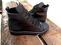 Демисезонные женские спортивные кеды кожа, обувь весна осень
