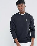 Мужской спортивный свитшот Nike,черный.