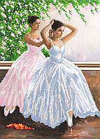 """Схема для вышивки бисером """"Балерины"""", А3"""
