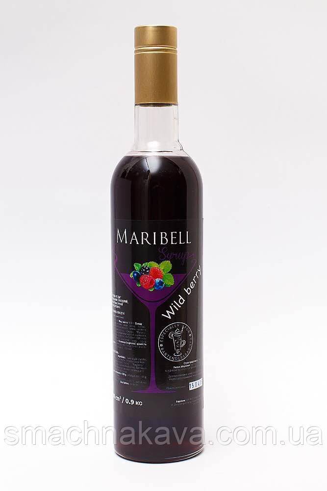 Сироп Лесная ягода ТМ Maribell