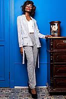 Стильный женский костюм Регина  Jadone белый 42-50  размеры