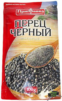 Приправка Перець Чорний мелений 100 г , фото 2