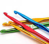 Крючек для вязания цветной 3,5 мм