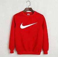 Мужская кофта,Свитшот Nike красный.