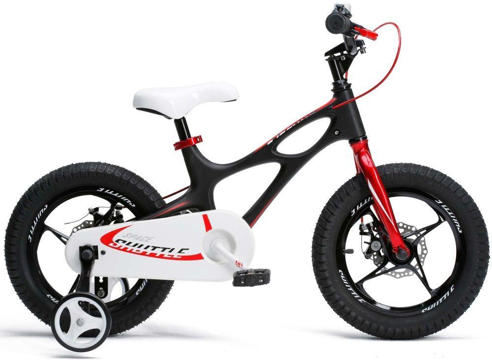 """Детский велосипед RoyalBaby 16"""" Space Shuttle, Official UA, черный"""