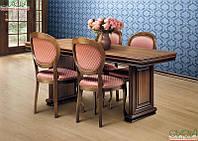 Стол обеденный 1,60 Тоскана-Нова (Белая Серебро )