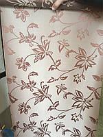Рулонные шторы, ткань Флаверс, очень красивая мега популярная с цветочным принтом