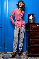 Стильный женский костюм Регина  Jadone коралловый 42-50  размеры