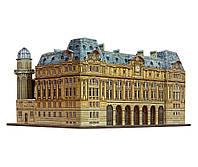 Вокзал Сен-Лазар, Сборная модель из картона, Умная бумага