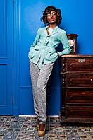 Стильный женский костюм Регина  Jadone  бирюзовый 42-50  размеры
