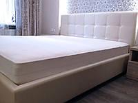 Двуспальная Кровать Scarlett 160*200 с подъемным механизмом с мягким прошитым изголовьем на заказ в Одессе