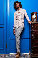 Стильный женский костюм Регина  Jadone  розовый 42-50  размеры