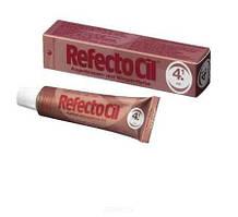 Фарба для брів і вій ( червоний - red ), 15мл RefectoCil № 4.1