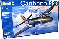 Высотный самолет-разведчик (1955г., Великобритания) BAC Canberra PR.9; 1:72, Revell