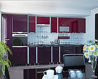 Кухня София Люкс Кухня 2,6 метров, Бордо/фиолетовый