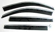 Volkswagen Tiguan ветровики дефлекторы окон ASP с молдингом нержавеющей стали / sunvisors