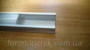 Алюминиевый профиль для светодиодной ленты Feron CAB 261 (накладной высокий) 2м