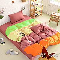 Хлопковое постельное белье, полуторка, APT010