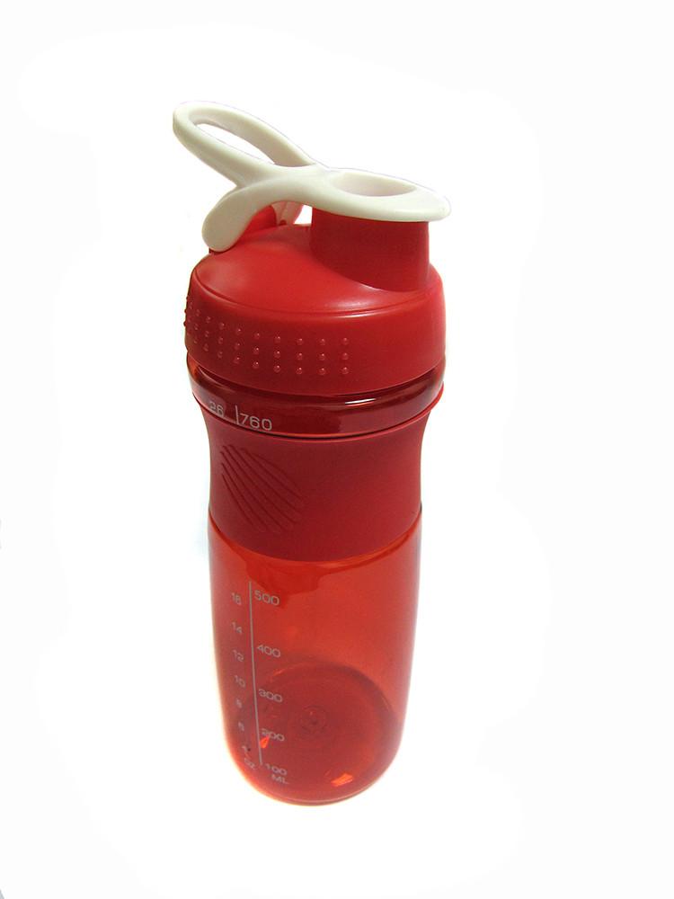 Спортивная бутылка с поилкой 760мл J00192 Red