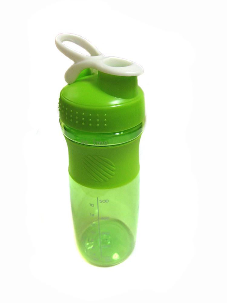 Спортивная бутылка с поилкой 760мл J00192 Green