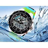 Часы наручные спортивные Skmei 1016 S-SHOCK Blue Colorful, фото 1