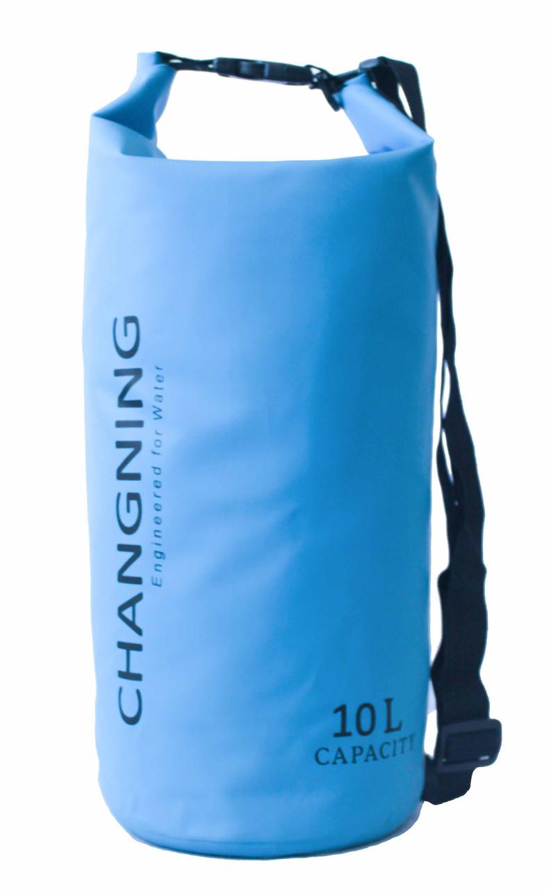 Сумка водонепроницаемая Changning Blue 10L