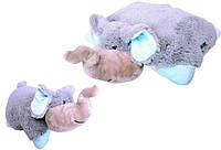 Декоративная подушка Слоненок, Pillow Pets
