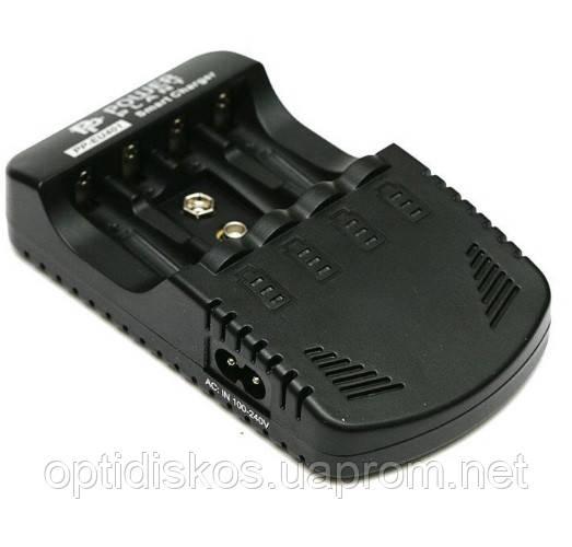 Зарядное устройство PowerPlant PP-EU401 Smart AA/ AAA/ 9V charger