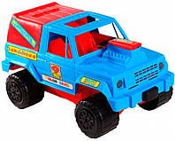 Джип - машинка, сине-красный, Wader