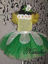 """Карнавальний костюм, юбка-платье из фатина """"РОМАШКА"""", фото 2"""