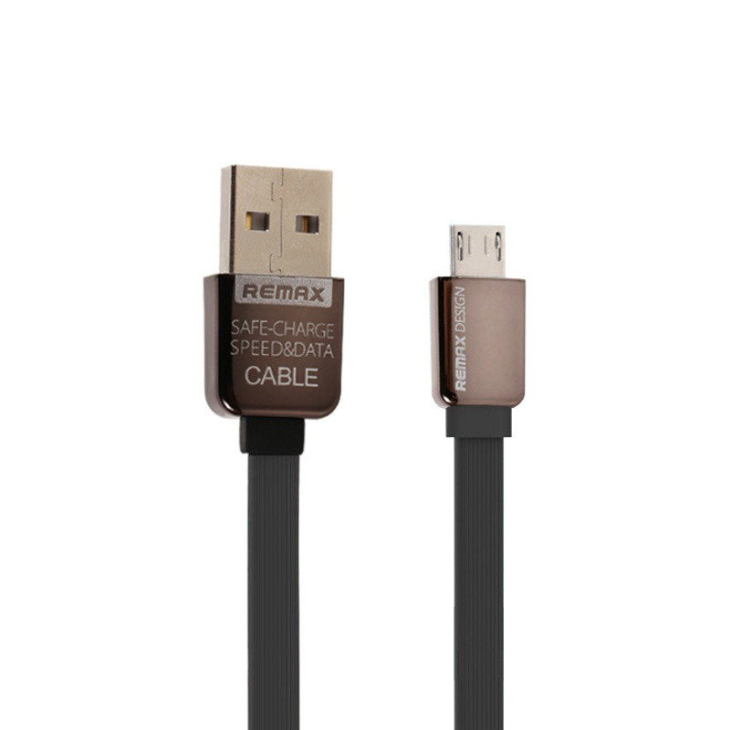 Кабель USB microUSB Remax King Kong Black