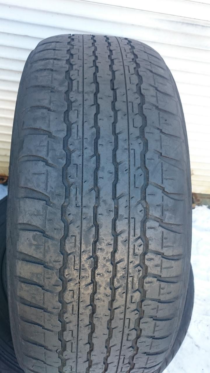 Шины б\у, летние: 265/60R18 Dunlop Grandtrek AT22