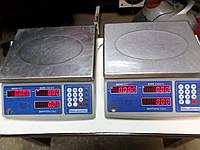 Весы торговые Икс-маркет ICS-15 NT б/у, торговые весы бу, весы бу.