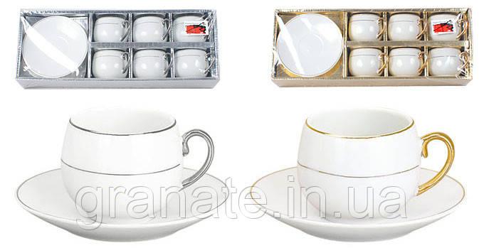 Кофейный фарфоровый набор, 2 вида