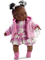 Испанская кукла Лоренс/Llorens Nicole с хвостиками 42 см
