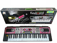 Детский пианино синтезатор MQ-019 FM с радио