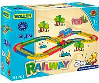 Железная дорога 3,1 м Kid Cars, Wader