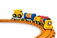 Железная дорога CAT Pre School, со светом и звуком. Toy State