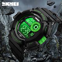 Часы наручные спортивные Sport Watch Skmei 1222 Green