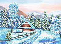 "Схема для вышивки бисером ""Зима"", А3"