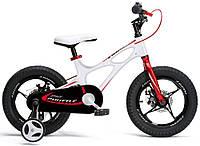 "Детский велосипед RoyalBaby 16"" Space Shuttle белый"
