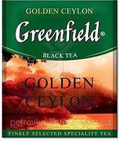 """Чай черный в пакетиках  Greenfield """"Golden Ceylon"""" 100шт"""