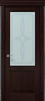 """Двери межкомнатные Папа Карло """"Milenium ML-11 бевелс"""" венге"""