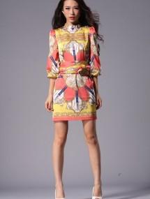 Женское платье Dolce&Gabbana Color