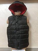 Жилетка детская с капюшоном р.86  ТМ Lupilu