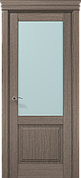 """Двери межкомнатные Папа Карло """"Milenium ML-11 бевелс"""" дуб серый брашированный"""