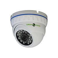 Камера відеоспостереження Green Vision GV-003-IP-E-DOSP14-20 купольна